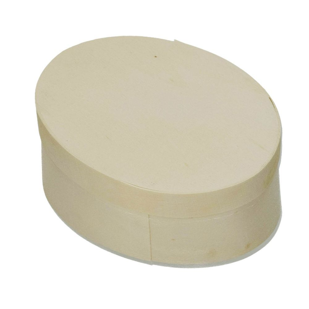 Spandose, oval, d 120 x 90 mm H 50 mm, roh